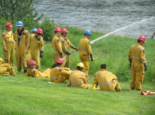fire-fighting-trainee-camp-in-action