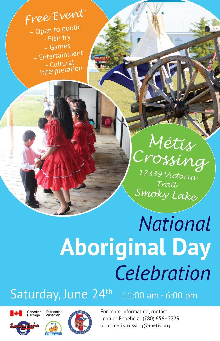 What's Next? National Aboriginal Days at Métis Crossing!